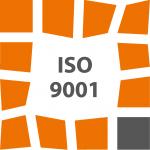 Logo van ISO9001 van GAH de Klomp